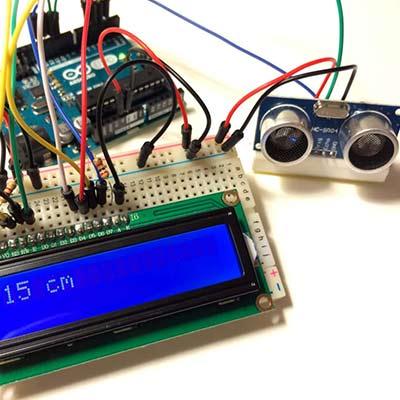 Датчик расстояния на Arduino