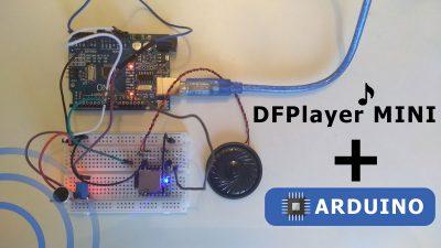 Arduino DFplayer подключение