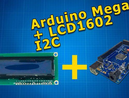 Подключаем LCD1602 к Arduino Mega